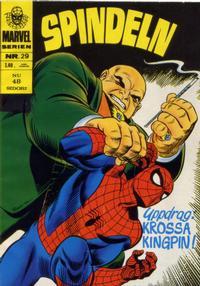 Cover Thumbnail for Marvelserien (Williams Förlags AB, 1967 series) #29