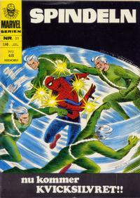 Cover Thumbnail for Marvelserien (Williams Förlags AB, 1967 series) #31