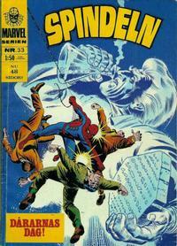 Cover Thumbnail for Marvelserien (Williams Förlags AB, 1967 series) #33