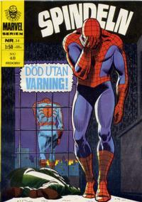 Cover Thumbnail for Marvelserien (Williams Förlags AB, 1967 series) #34