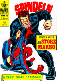 Cover Thumbnail for Marvelserien (Williams Förlags AB, 1967 series) #35
