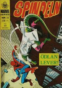 Cover Thumbnail for Marvelserien (Williams Förlags AB, 1967 series) #36