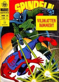 Cover Thumbnail for Marvelserien (Williams Förlags AB, 1967 series) #38