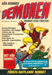 Cover Thumbnail for Demonen (Centerförlaget, 1966 series) #1/1966