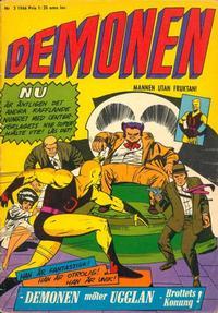 Cover Thumbnail for Demonen (Centerförlaget, 1966 series) #2/1966