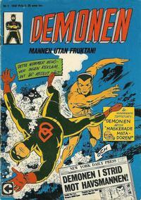 Cover Thumbnail for Demonen (Centerförlaget, 1966 series) #1/1967