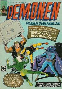 Cover Thumbnail for Demonen (Centerförlaget, 1966 series) #3/1967