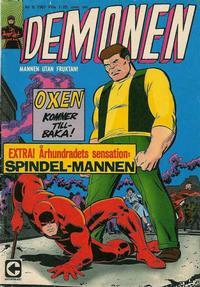 Cover Thumbnail for Demonen (Centerförlaget, 1966 series) #6/1967