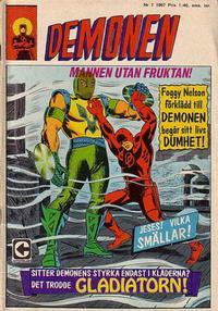Cover Thumbnail for Demonen (Centerförlaget, 1966 series) #7/1967