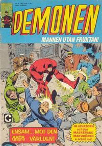 Cover Thumbnail for Demonen (Centerförlaget, 1966 series) #8/1967
