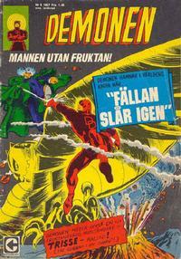 Cover Thumbnail for Demonen (Centerförlaget, 1966 series) #9/1967