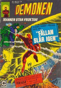 Cover Thumbnail for Demonen (Centerförlaget, 1966 series) #9/1967