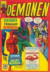 Cover Thumbnail for Demonen (Centerförlaget, 1966 series) #4/1968
