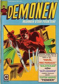 Cover Thumbnail for Demonen (Centerförlaget, 1966 series) #2/1969