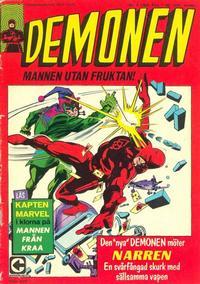 Cover Thumbnail for Demonen (Centerförlaget, 1966 series) #3/1969