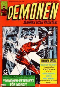 Cover Thumbnail for Demonen (Centerförlaget, 1966 series) #5/1969