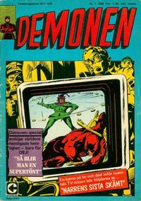 Cover Thumbnail for Demonen (Centerförlaget, 1966 series) #7/1969