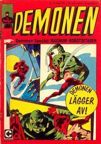 Cover Thumbnail for Demonen (Centerförlaget, 1966 series) #10/1969