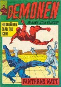 Cover Thumbnail for Demonen (Centerförlaget, 1966 series) #13/1969