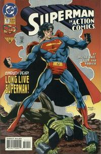 Cover Thumbnail for Action Comics (DC, 1938 series) #711