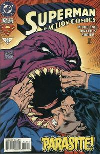Cover Thumbnail for Action Comics (DC, 1938 series) #715 [Direct Sales]