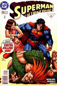 Cover Thumbnail for Action Comics (DC, 1938 series) #724