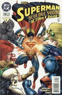 Cover Thumbnail for Action Comics (DC, 1938 series) #730 [Direct Sales]