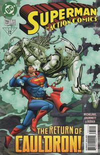 Cover Thumbnail for Action Comics (DC, 1938 series) #731 [Direct Sales]