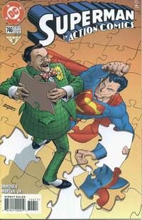 Cover Thumbnail for Action Comics (DC, 1938 series) #746