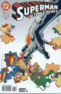 Cover Thumbnail for Action Comics (DC, 1938 series) #747