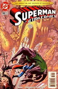 Cover Thumbnail for Action Comics (DC, 1938 series) #749