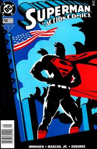 Cover Thumbnail for Action Comics (DC, 1938 series) #750 [Newsstand]
