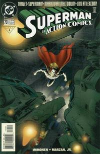 Cover Thumbnail for Action Comics (DC, 1938 series) #751 [Direct Sales]