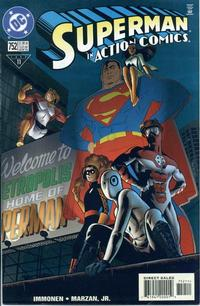 Cover Thumbnail for Action Comics (DC, 1938 series) #752 [Direct Sales]