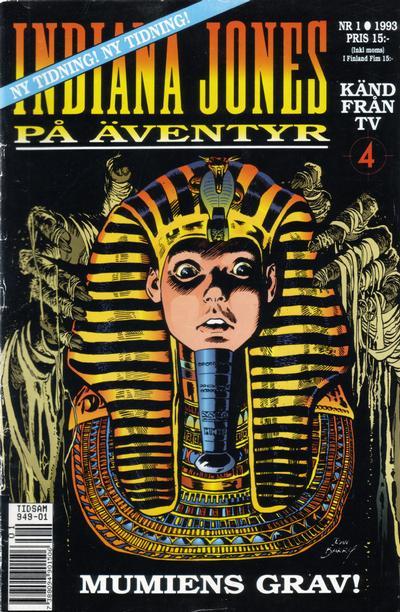 Cover for Indiana Jones på äventyr (Semic, 1993 series) #1/1993