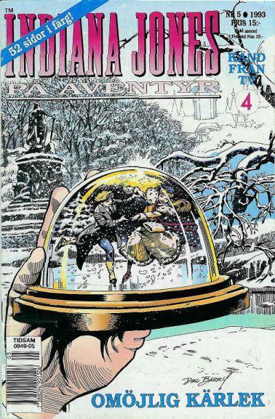 Cover for Indiana Jones på äventyr (Semic, 1993 series) #5/1993