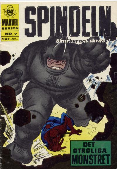 Cover for Marvelserien (Williams Förlags AB, 1967 series) #7