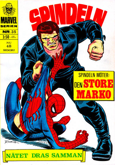 Cover for Marvelserien (Williams Förlags AB, 1967 series) #35