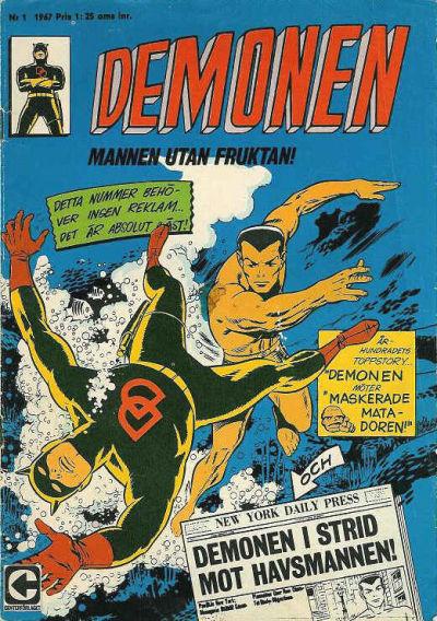 Cover for Demonen (Centerförlaget, 1966 series) #1/1967