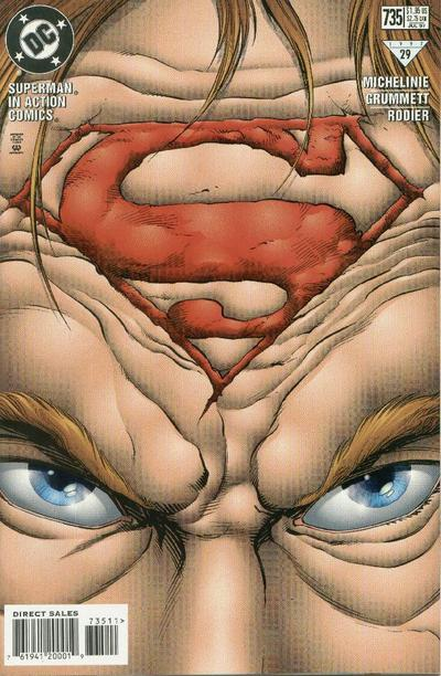 Cover for Action Comics (DC, 1938 series) #735