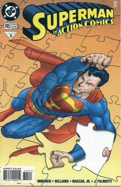 Cover for Action Comics (DC, 1938 series) #745