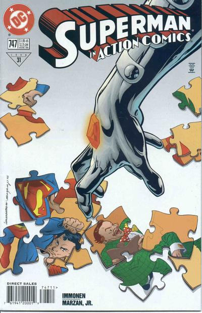 Cover for Action Comics (DC, 1938 series) #747