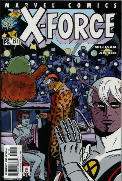Cover for X-Force (Marvel, 1991 series) #121 [Direct Edition]