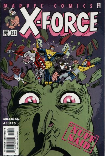 Cover for X-Force (Marvel, 1991 series) #123 [Direct Edition]