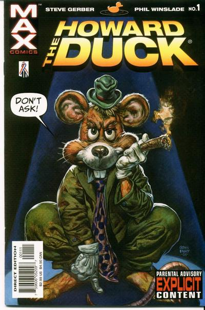 Cover for Howard the Duck (Marvel, 2002 series) #1