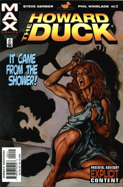 Cover for Howard the Duck (Marvel, 2002 series) #2