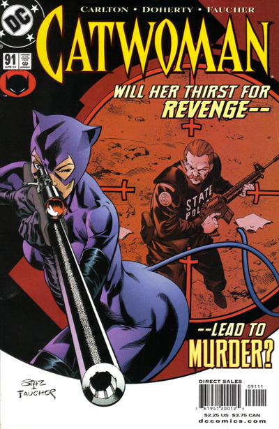 Cover for Catwoman (DC, 1993 series) #91