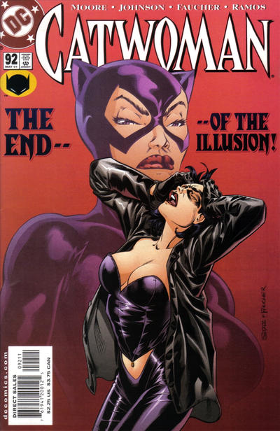 Cover for Catwoman (DC, 1993 series) #92