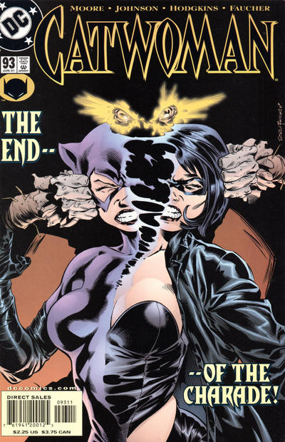Cover for Catwoman (DC, 1993 series) #93 [Direct Edition]