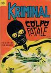 Cover for Kriminal (Editoriale Corno, 1964 series) #10